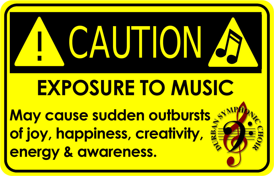 music caution